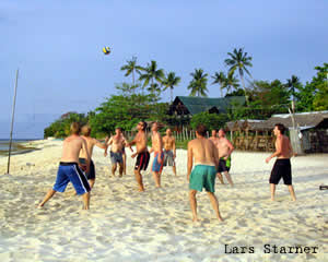 beachvolleyball moalboal